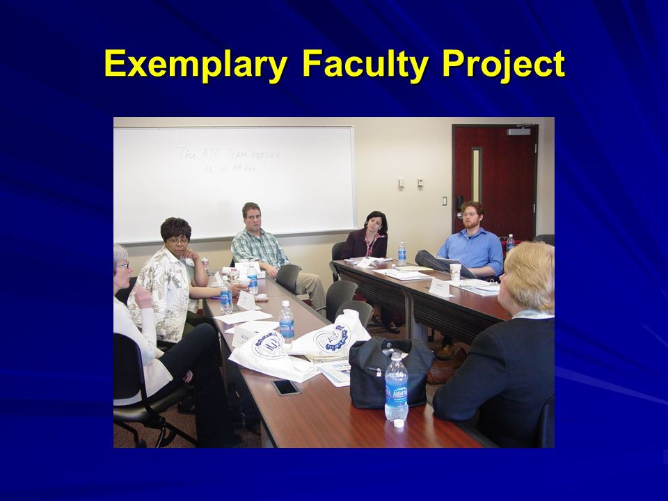 Exemplary Faculty Project