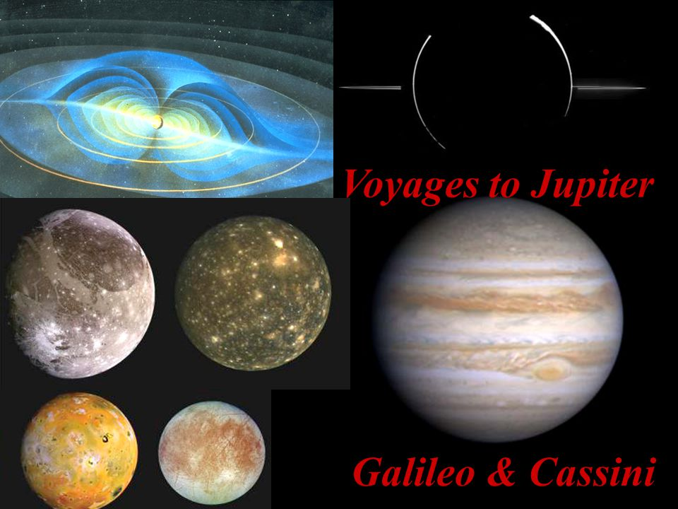Voyages to Jupiter Galileo & Cassini