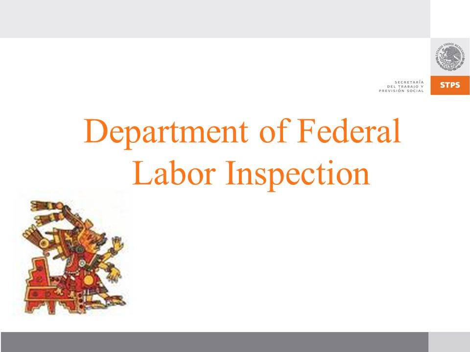 Department of Federal Labor Inspection