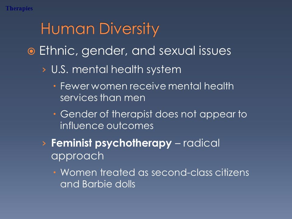  Ethnic, gender, and sexual issues › U.S.