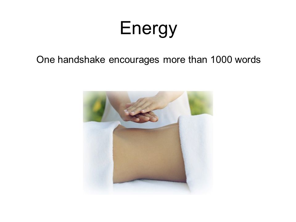 Energy One handshake encourages more than 1000 words