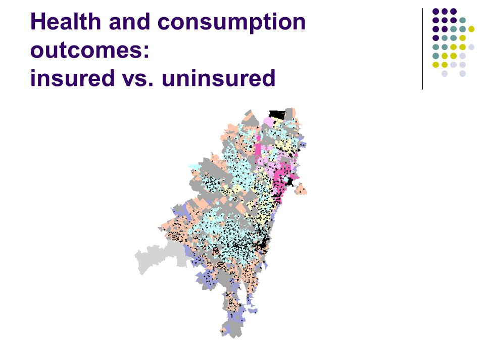Health and consumption outcomes: insured vs. uninsured