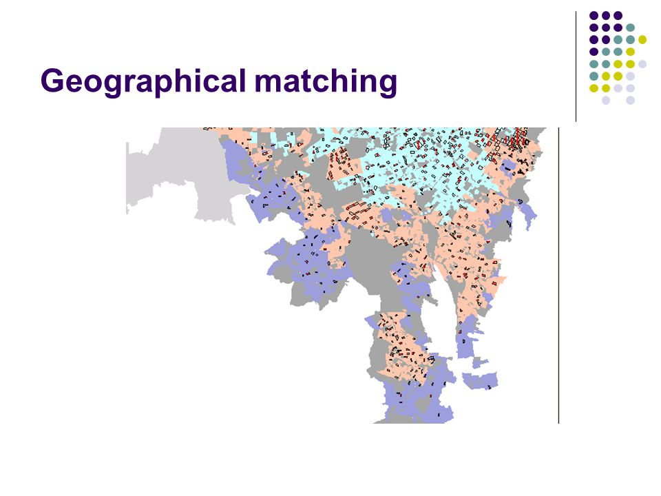 Geographical matching