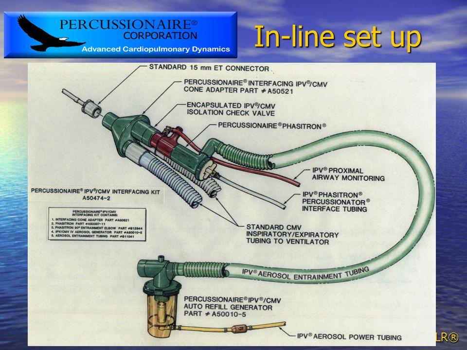 TLR® In-line set up