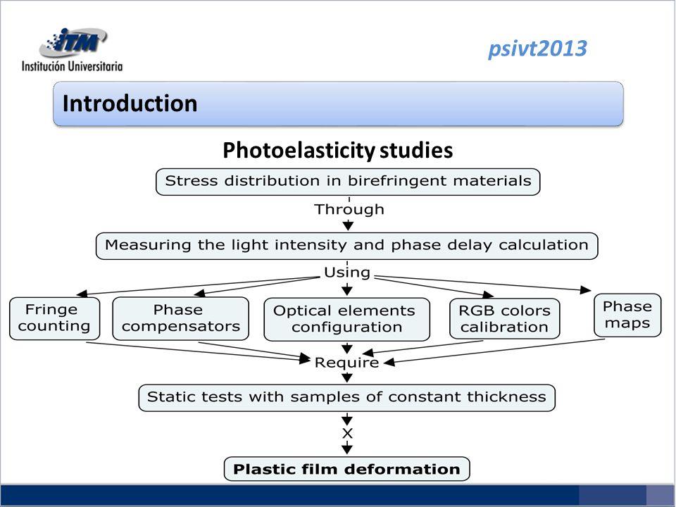 psivt2013 Introduction Photoelasticity studies