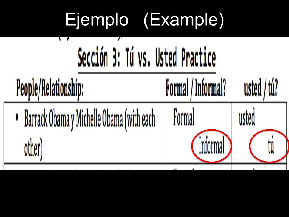 Ejemplo (Example)