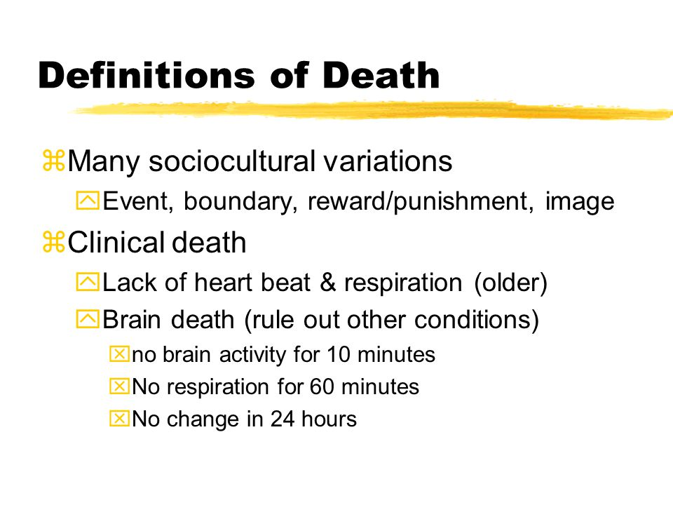 Ethical Issues zActive Euthanasia yDeliberate ending of someone's life xExpressed desire of person xDegenerative disease, persistent vegetative state yWide variation in views xDeath with Dignity (1994) in Oregon