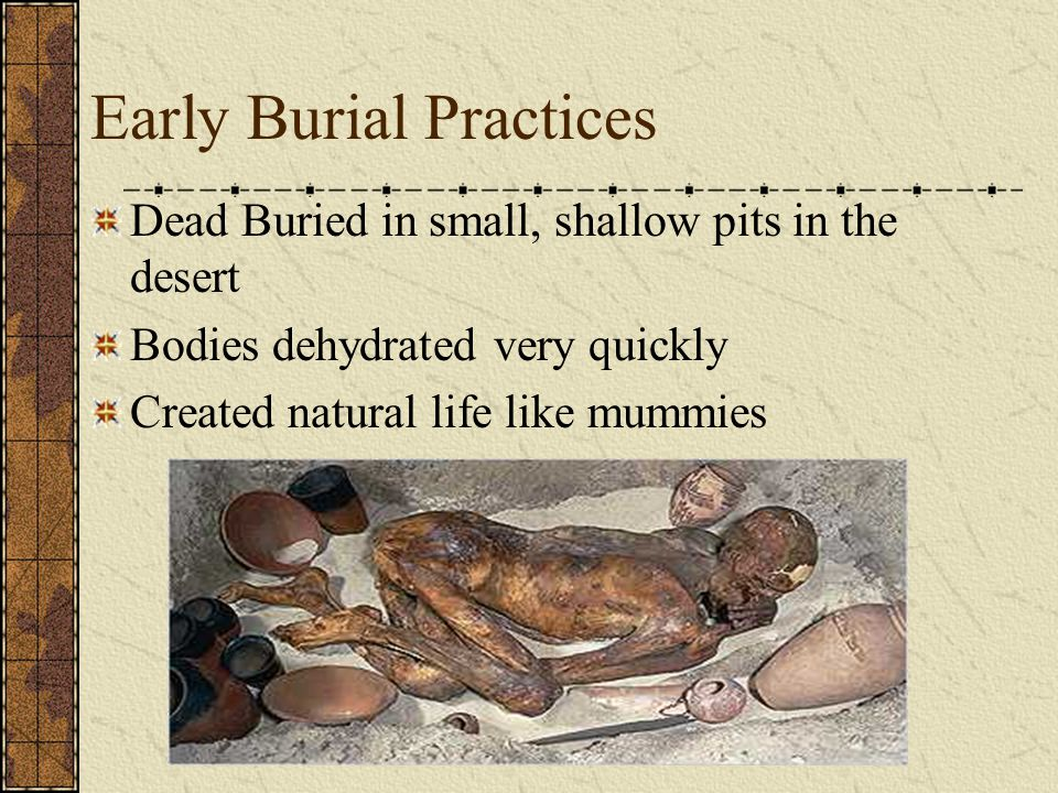 Mummification Preparation for the Afterlife