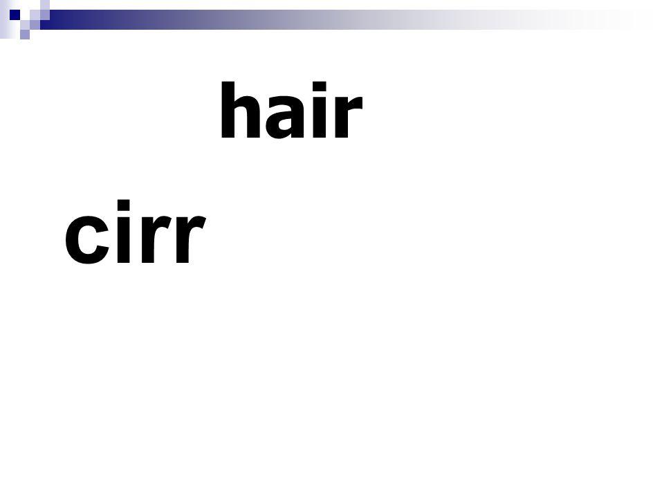 hair cirr