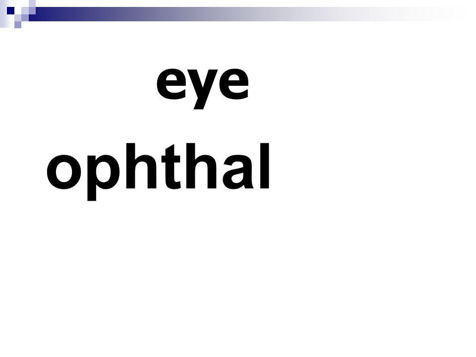 eye ophthal