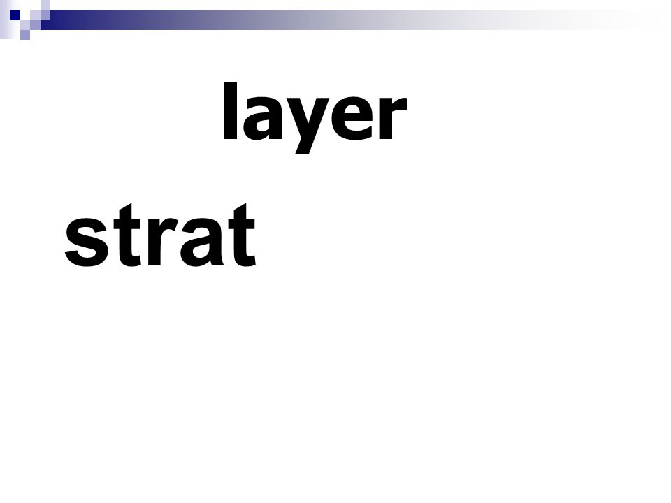 layer strat