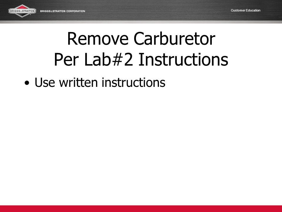 Customer Education Install Muffler Replace gasket.