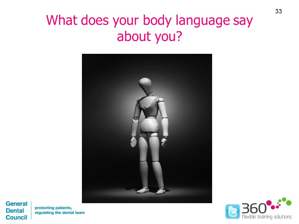 What does your body language say about you 33