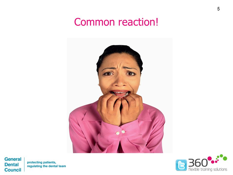Common reaction! 5