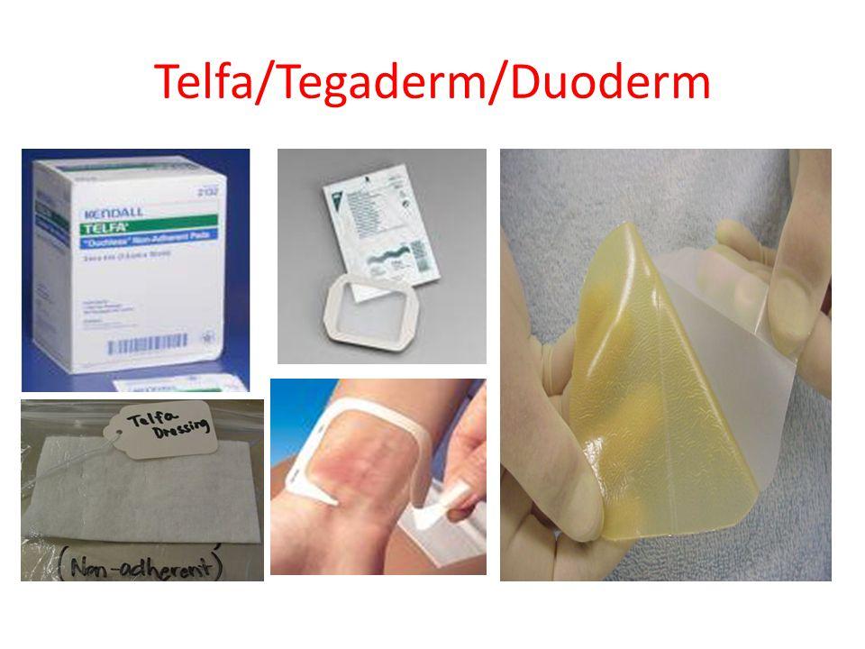 Telfa/Tegaderm/Duoderm