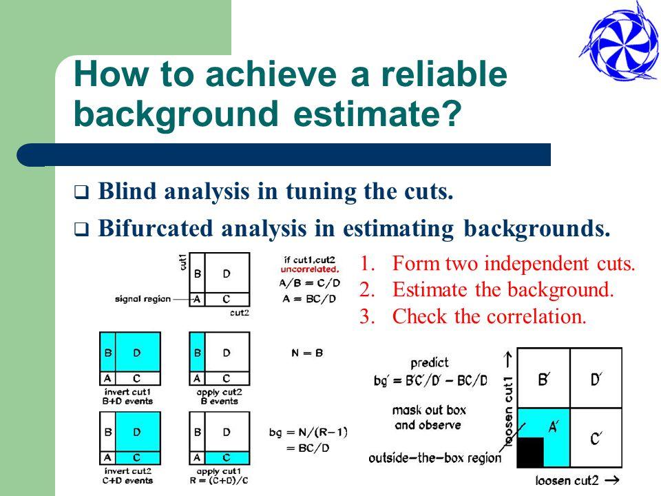 Background suppression Cut Bkg Kinematics cuts(p/R/E) Particle ID  Photon veto Timing cuts K       K       Beams  K   n   p, K    l - 
