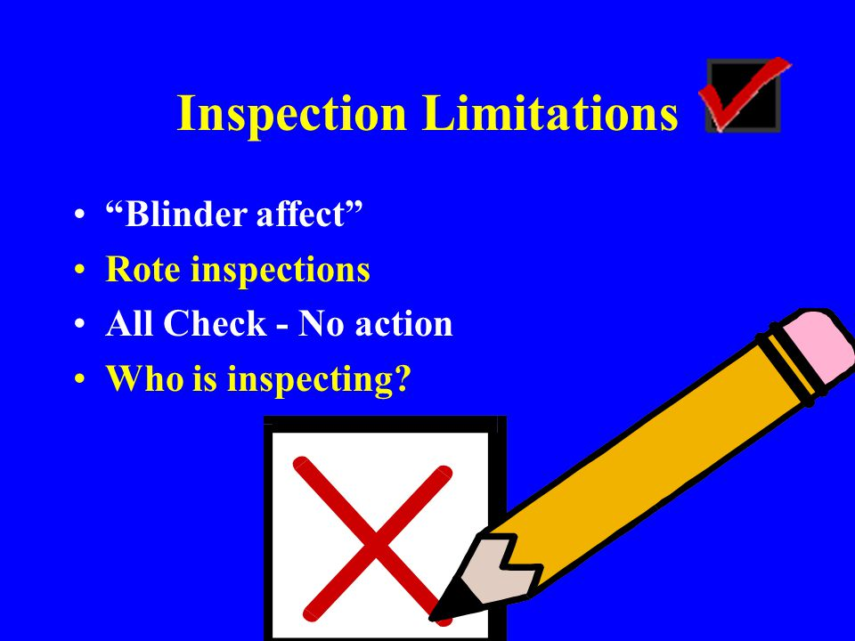 Inspections Fact-Finding vs.