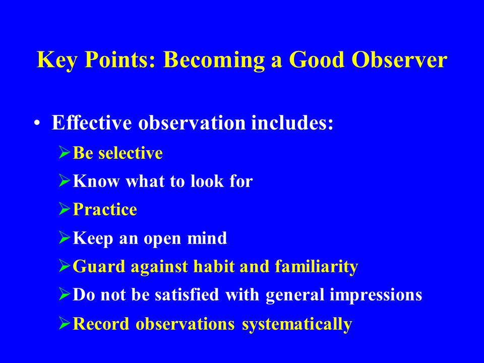 Raise Standards Will see improvement if the first four steps are followed Keep raising your expectations and help provide leadership Solve the obvious