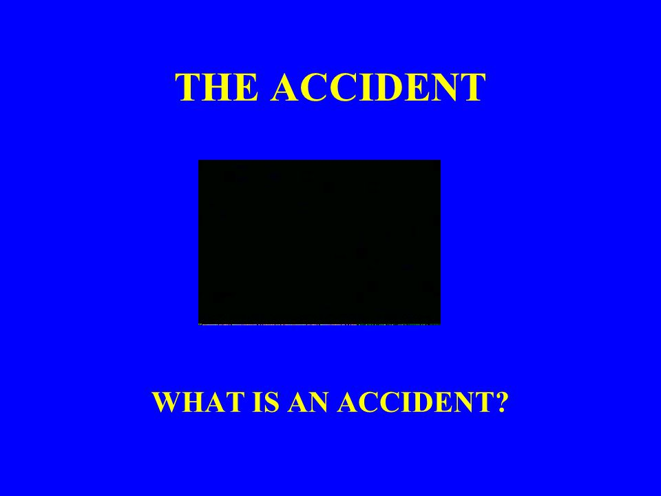 INTRODUCTION Thousands of accidents occur throughout the United States every day Accident investigations determine how and why these failures occur Conduct accident investigations with accident prevention in mind - Investigations are NOT to place blame Investigate all accidents regardless of the extent of injury or damage