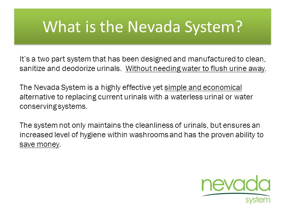 What is the Nevada System.