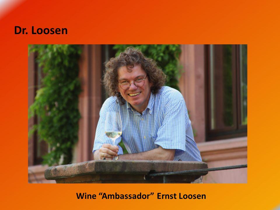 Dr. Loosen Wine Ambassador Ernst Loosen
