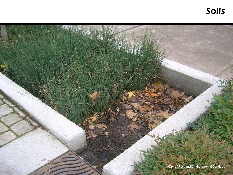 Soils City of Portland Environmental Services