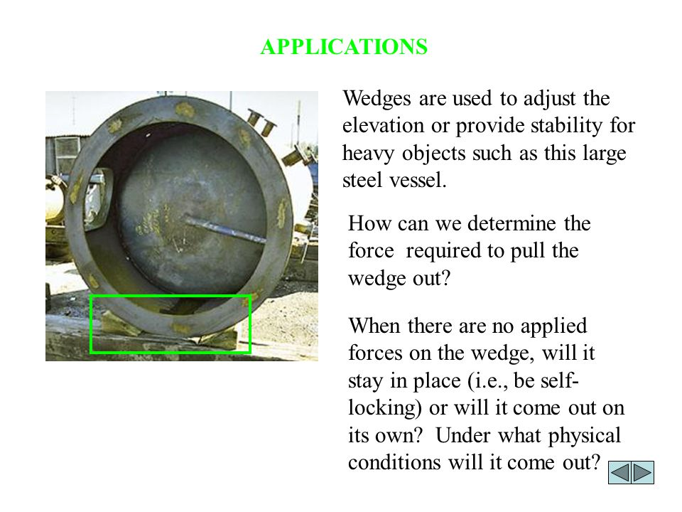 APPLICATIONS (continued) Belt drives are commonly used for transmitting power from one shaft to another.