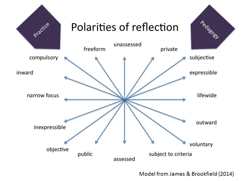 Practice Pedagogy Model from James & Brookfield (2014)
