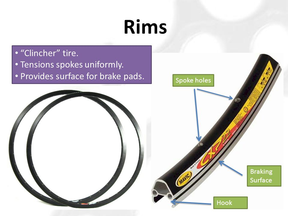 Increases Wheel Strength And integrity ↔ Tubular (tubie, tubs, sewups) Vs Clincher (hook-rim, wire-bead)