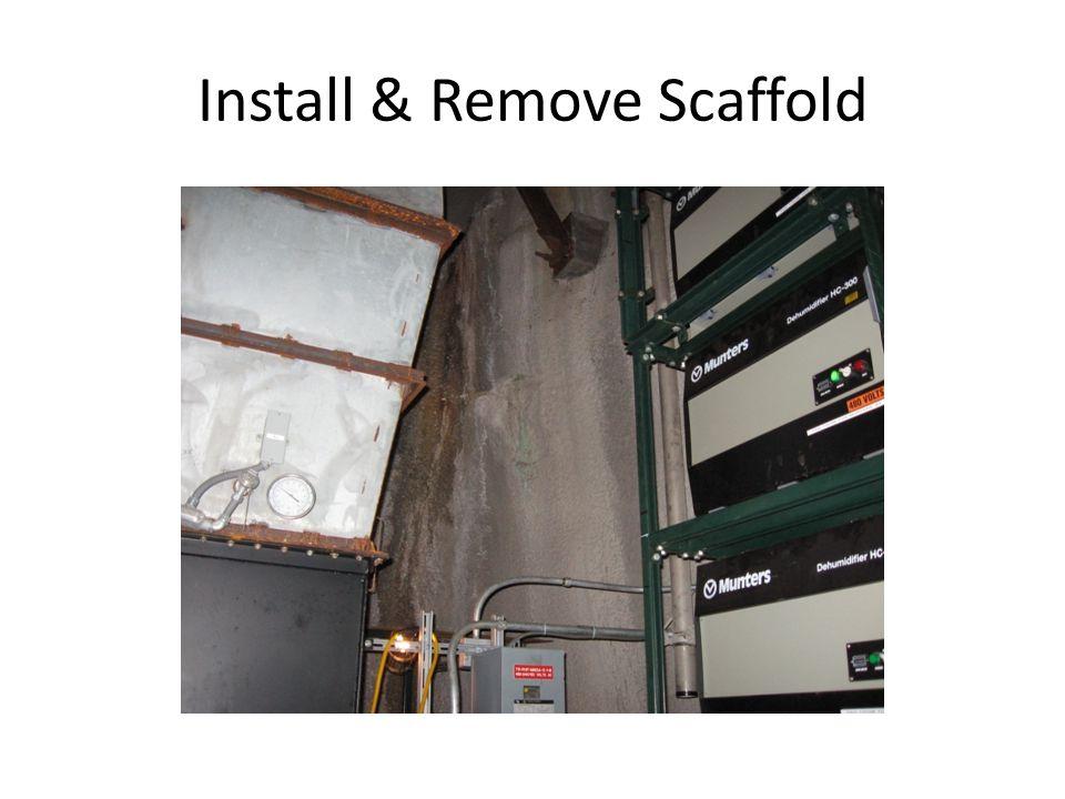 Install & Remove Scaffold