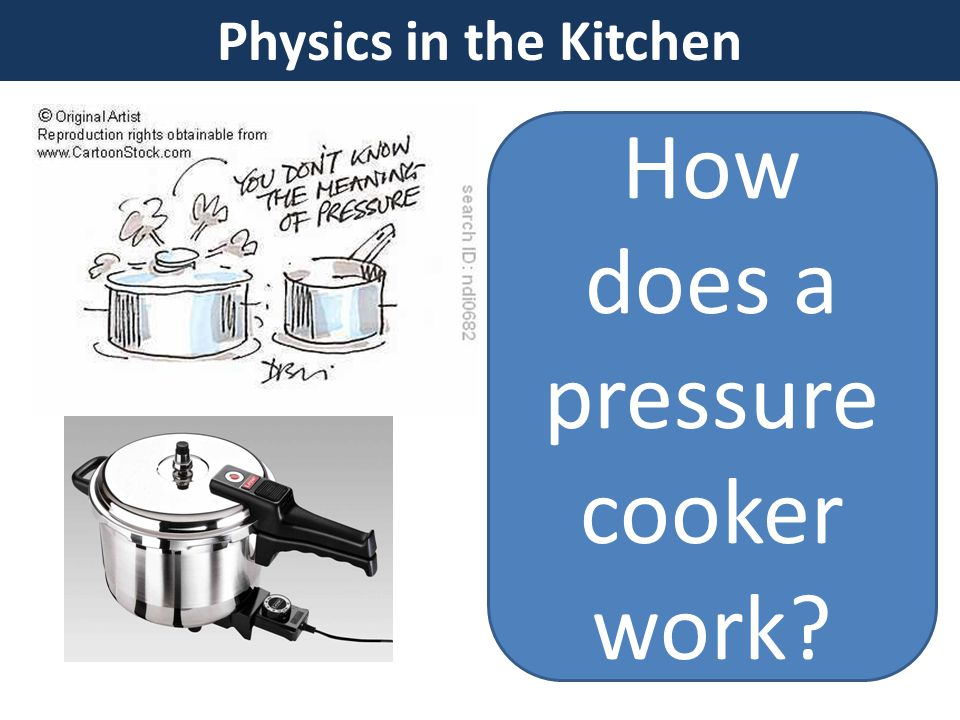 Physics in the Kitchen