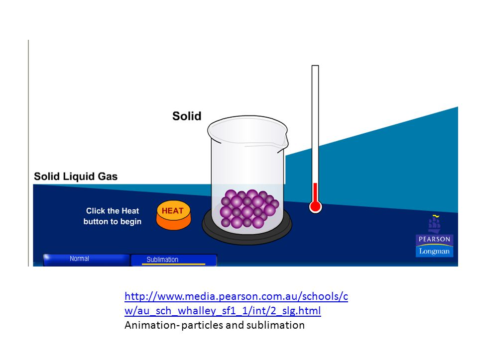 Summary: States or Phases of Water The Phase or State of matter is a physical characteristic.