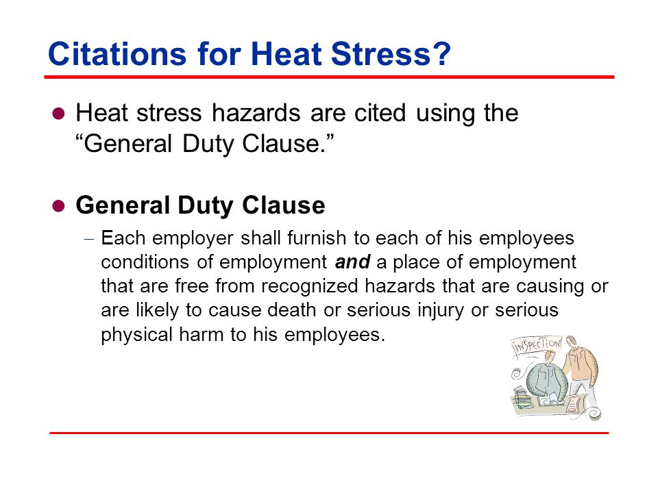 Citations for Heat Stress.