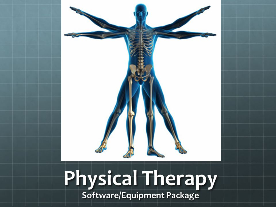 Physical Therapy Software/Equipment Package