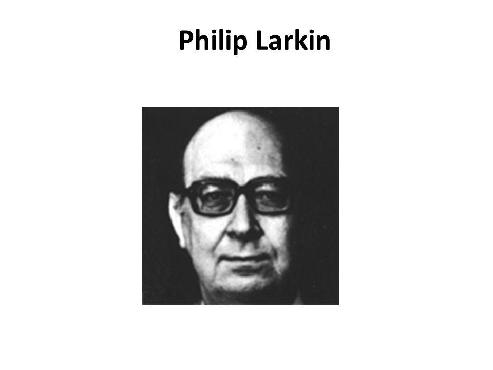 In 1922, Philip Larkin was born in Coventry, England.