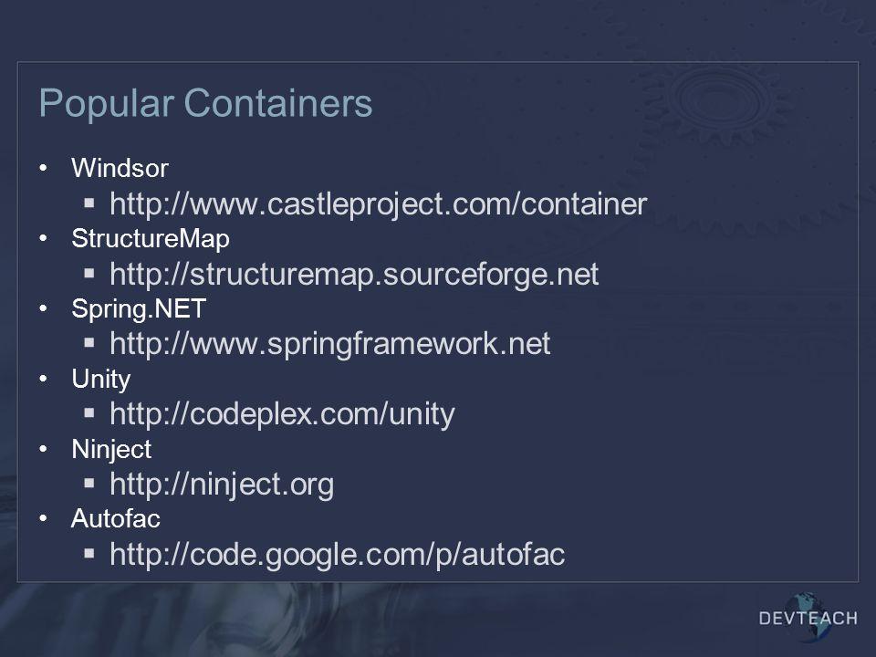 NHibernate Quickstart Create hibernate.cfg.xml or use app.config var cfg = new Configuration(); cfg.Configure(); var sf = cfg.BuildSessionFactory(); using(var s = sf.OpenSession()) using(var tx = s.BeginTransaction()) { var c = s.Get (42); tx.Commit(); }
