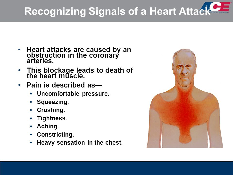Recognizing Signals of a Heart Attack Heart attacks are caused by an obstruction in the coronary arteries. This blockage leads to death of the heart m