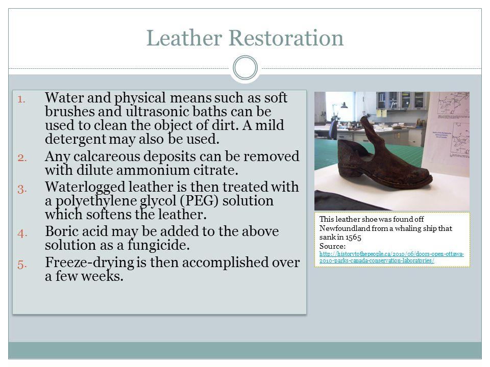 Leather Restoration 1.