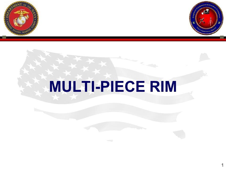 1 ENGINEER EQUIPMENT INSTRUCTION COMPANY MULTI-PIECE RIM