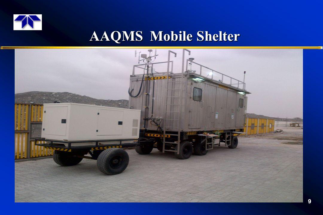 AAQMS Mobile Shelter AAQMS Mobile Shelter 9