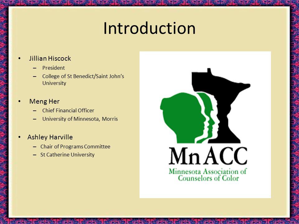 Introduction Jillian Hiscock – President – College of St Benedict/Saint John's University Meng Her – Chief Financial Officer – University of Minnesota