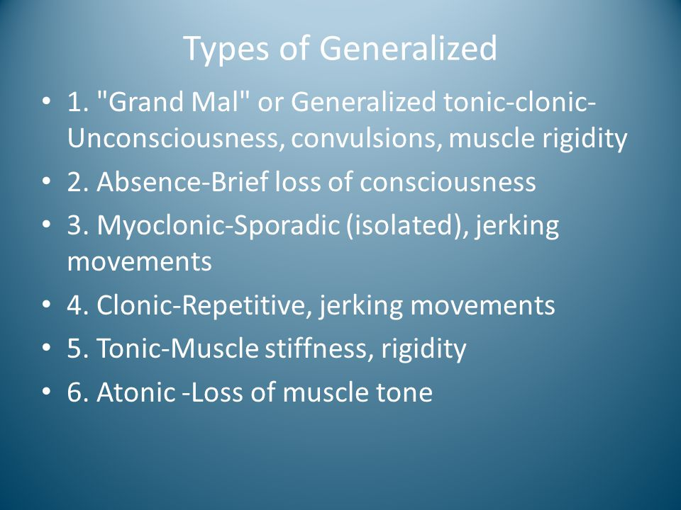 Types of Generalized 1.