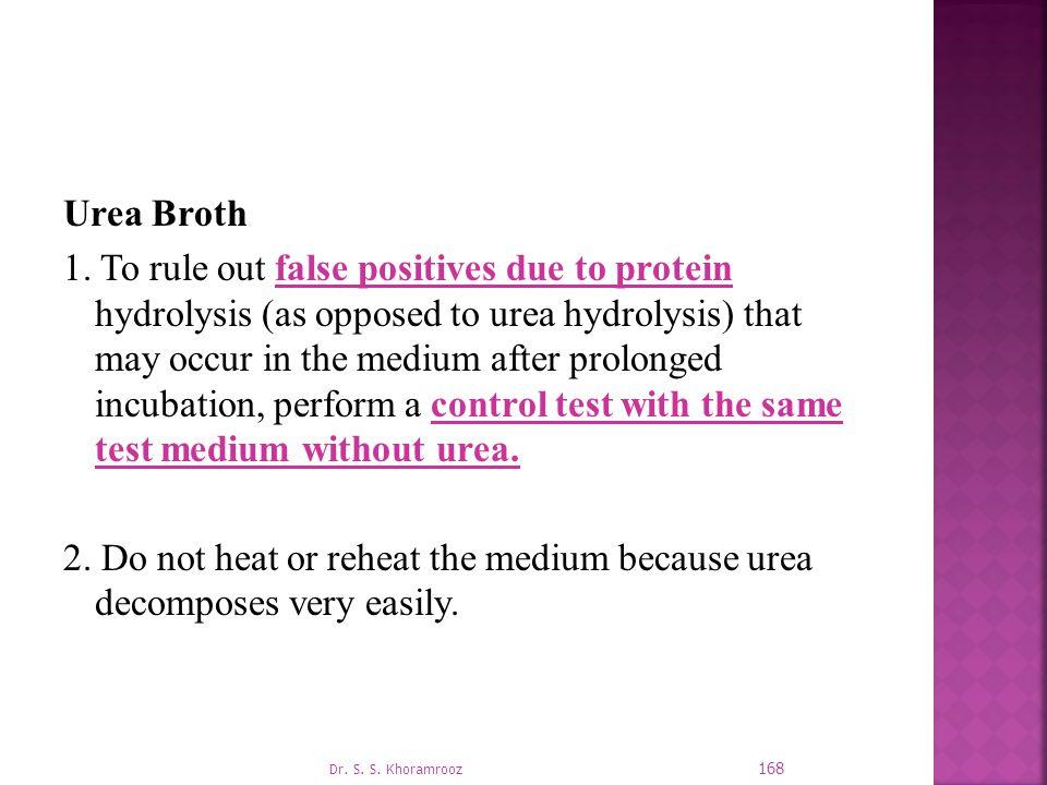 Urea Broth 1.