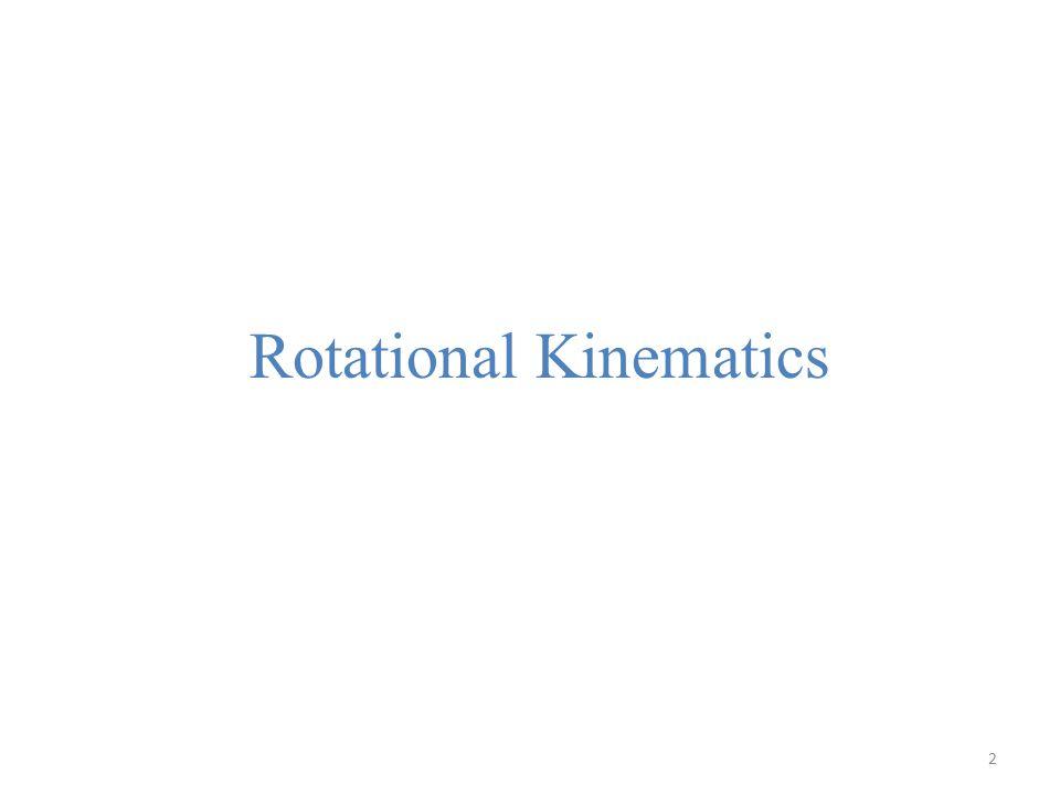 Linear Motion Rotational Motion positionxangular position velocityv = dx/dtangular velocity acceleration a = dv/dt angular acceleration mass m moment of inertia linear momentum p=mvangular momentum force F = ma torque work power P = Fv power kinetic energy The analogies between translational and rotational motion 3