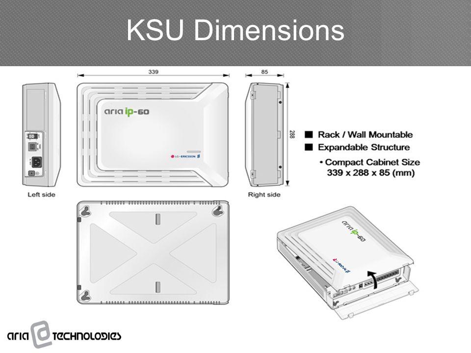 KSU Dimensions