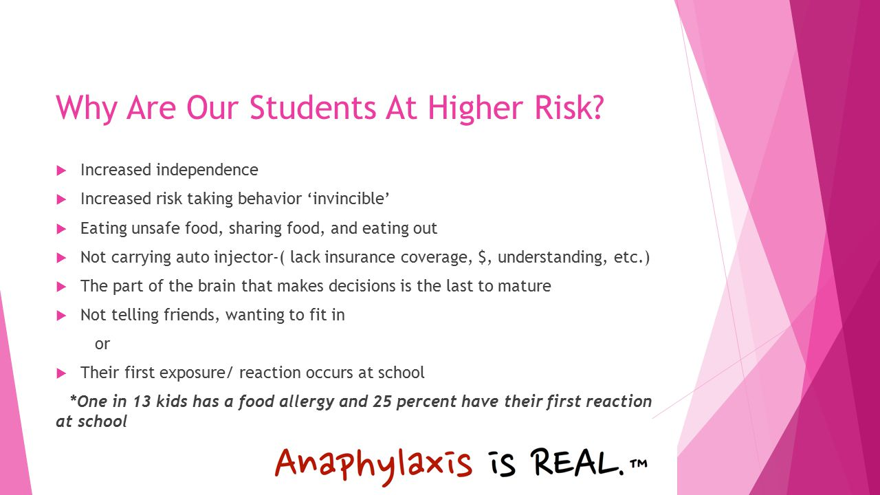 Why Are Our Students At Higher Risk.