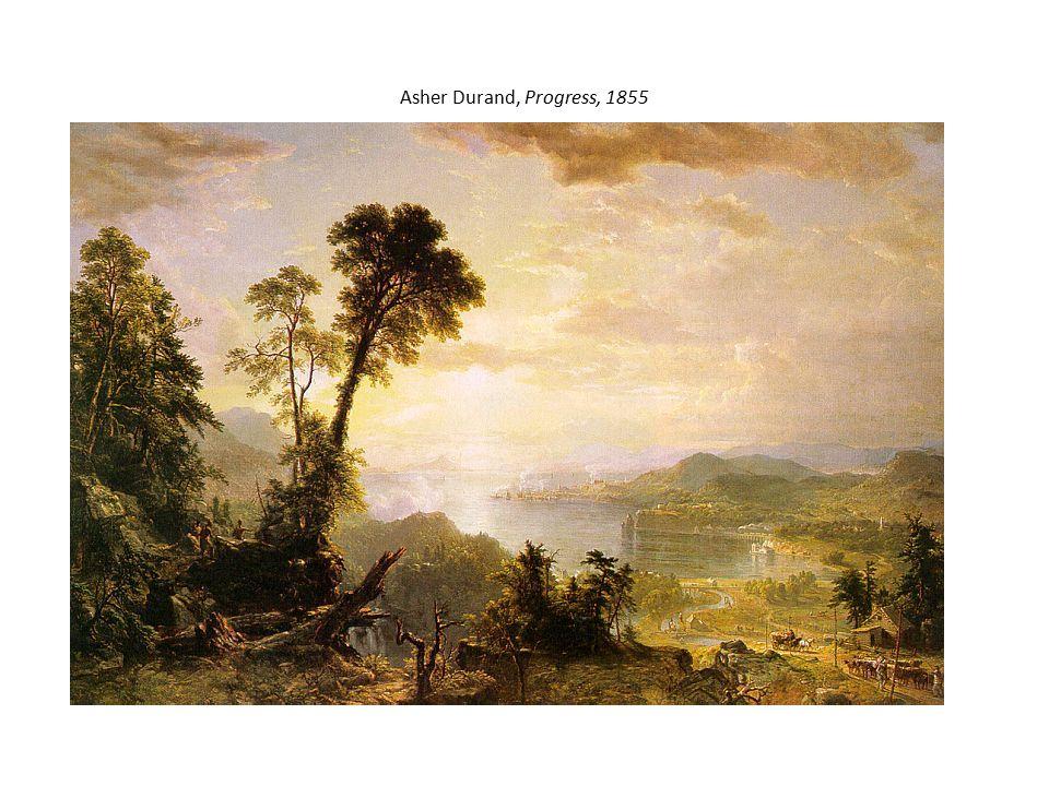 Asher Durand, Progress, 1855