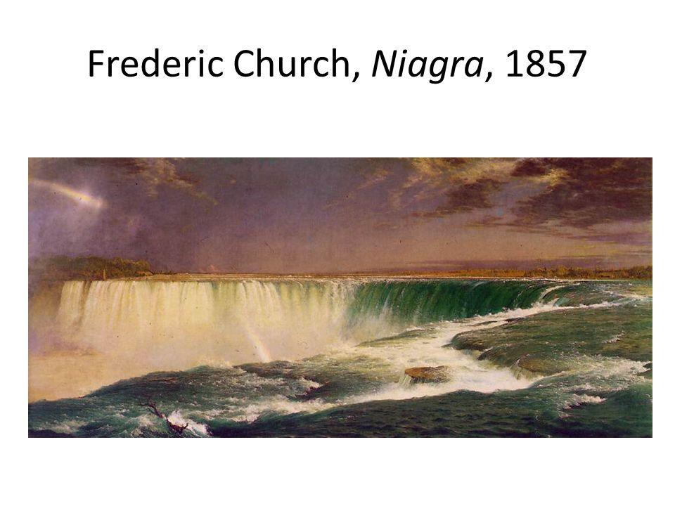 Frederic Church, Niagra, 1857