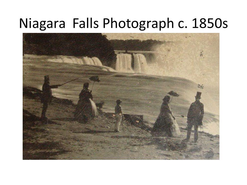 Niagara Falls Photograph c. 1850s