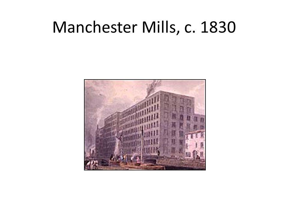 Manchester Mills, c. 1830